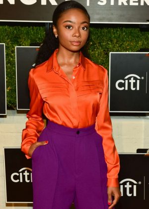 Skai Jackson - Los Angeles No Kid Hungry Dinner in LA