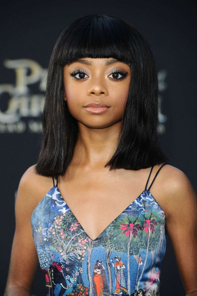 Skai Jackson - 'Pirates Of The Caribbean: Dead Men Tell No Tales' Premiere in Hollywood