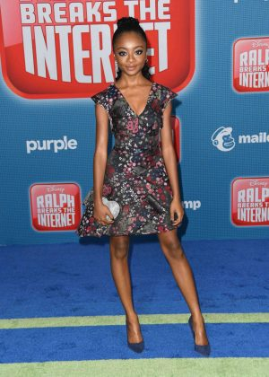Skai Jackson - 'Ralph Breaks the Internet' Premiere in Hollywood