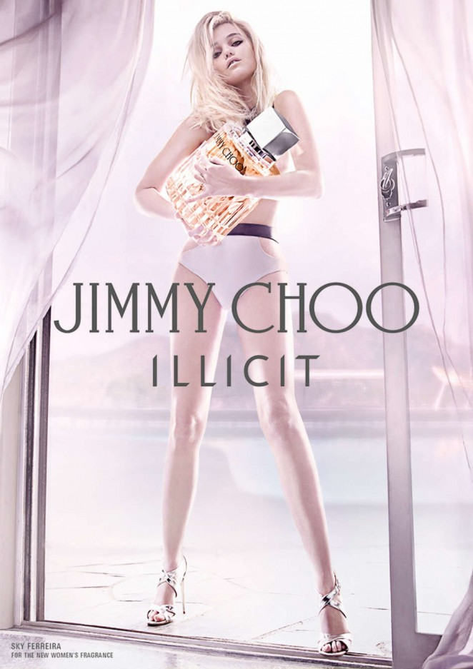 Sky Ferreira - Jimmy Choo Illicit Fragrance Campaign