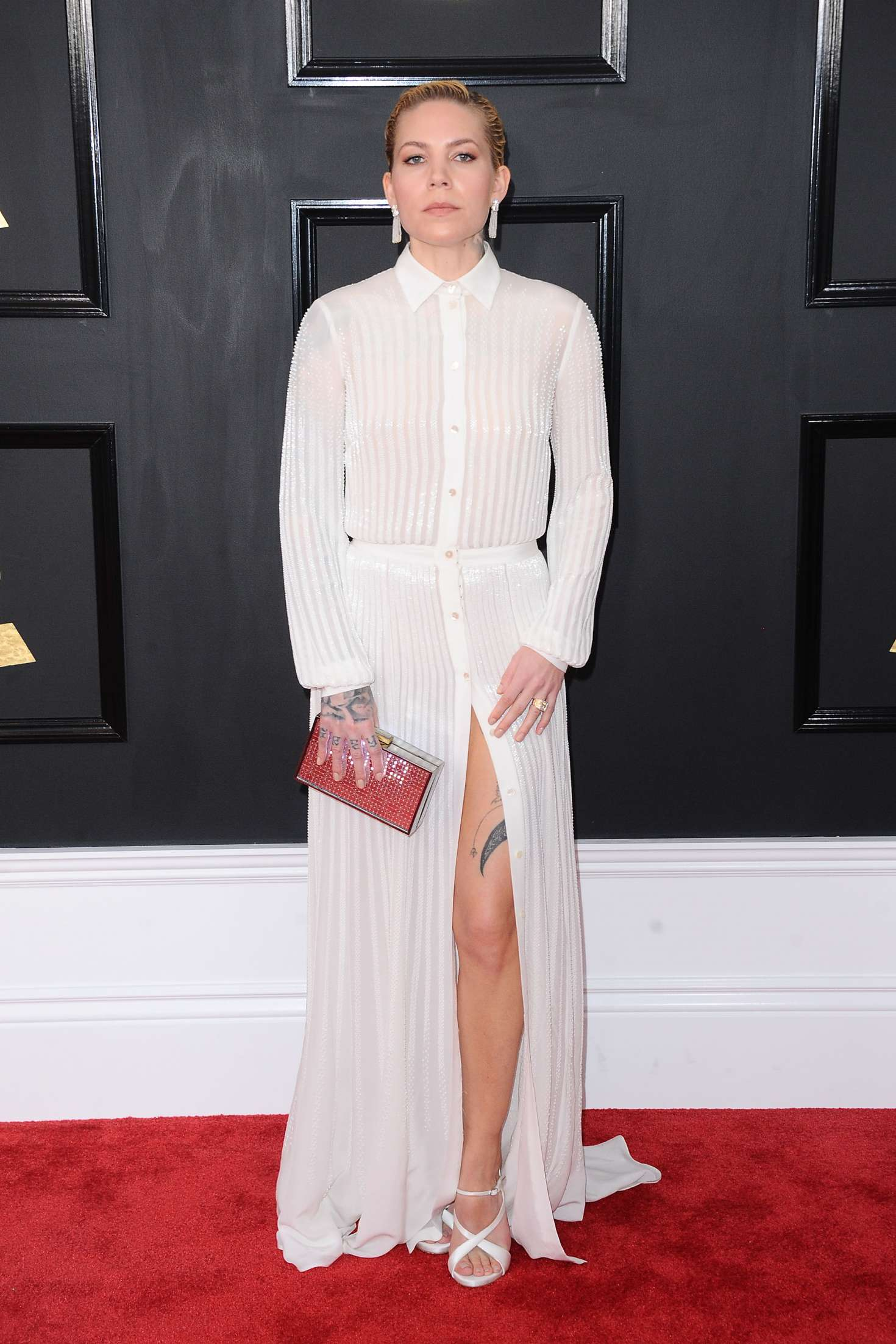 Skylar Grey - 59th GRAMMY Awards in Los Angeles
