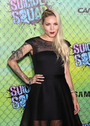 Skylar Grey - 'Suicide Squad' Premiere in New York