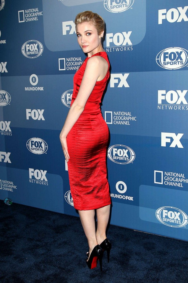 Skyler Samuels - 2015 FOX Programming Presentation in NYC