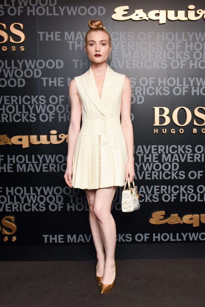 Skyler Samuels  - Esquire celebrates March cover star James Corden with Hugo Boss in LA