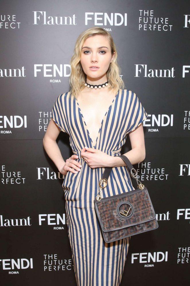 Skyler Samuels - Fendi X Flaunt Celebrate the Fantasy Issue in LA