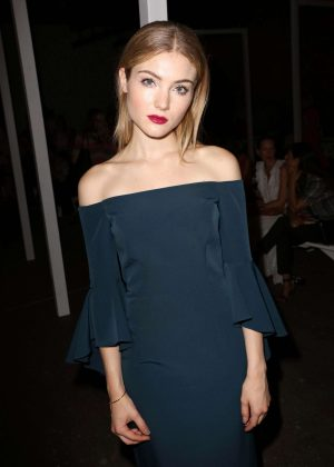 Skyler Samuels - Milly Fashion Show at 2016 New York Fashion Week in NY