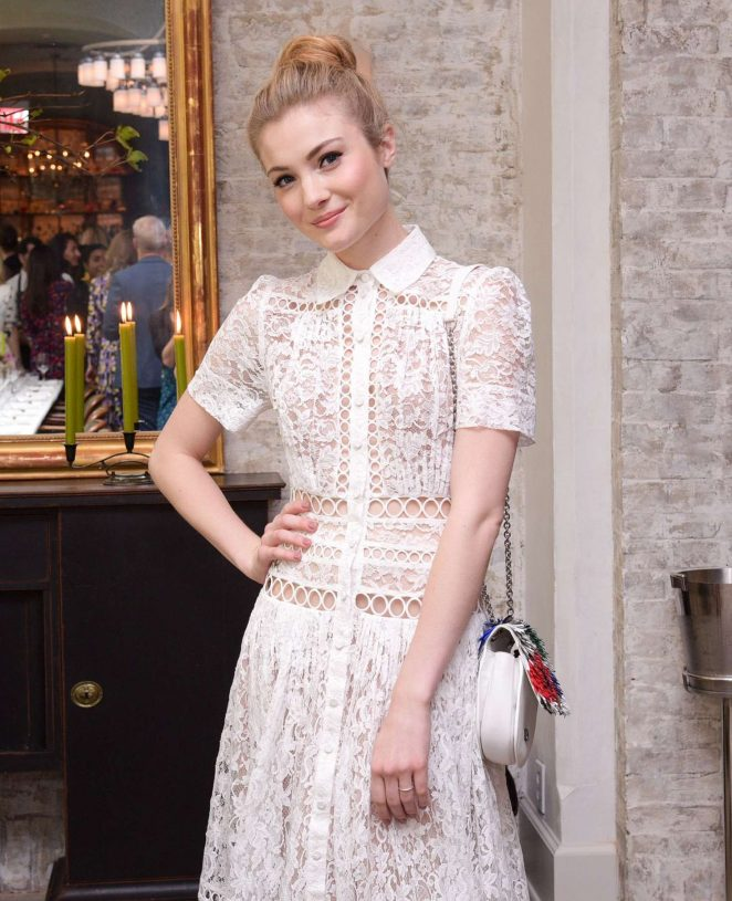Skyler Samuels - W Magazine It Girl Luncheon in New York