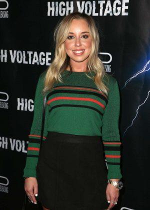 Skyler Shaye - 'High Voltage' Premiere in Los Angeles