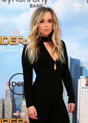 Skyler Shaye - 'Spider-Man: Homecoming' Premiere in Hollywood