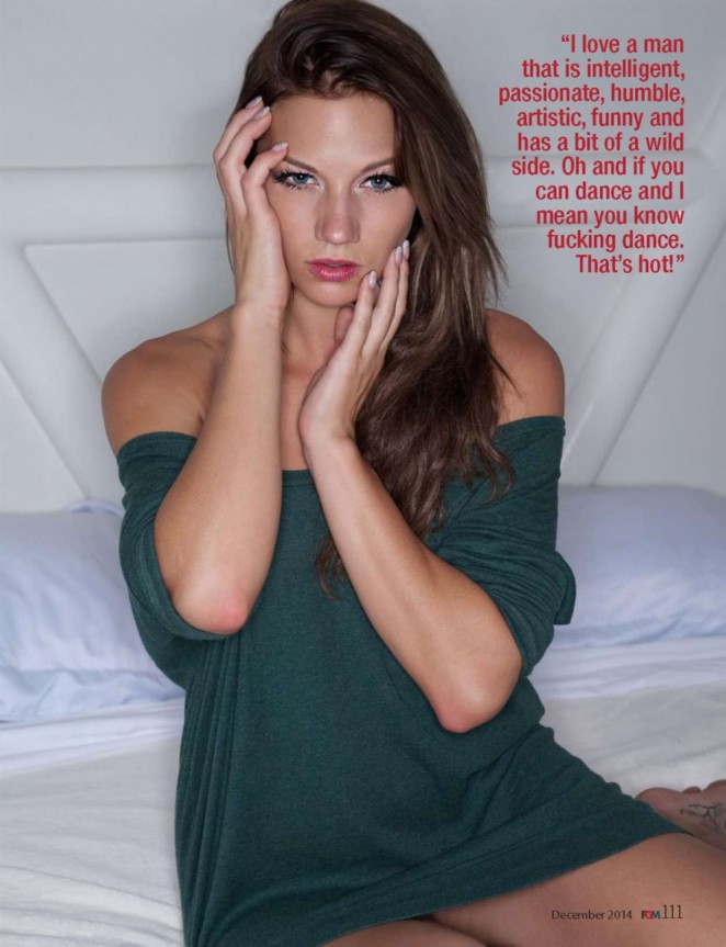 Sloan Summers - FGM Magazine (December 2014)