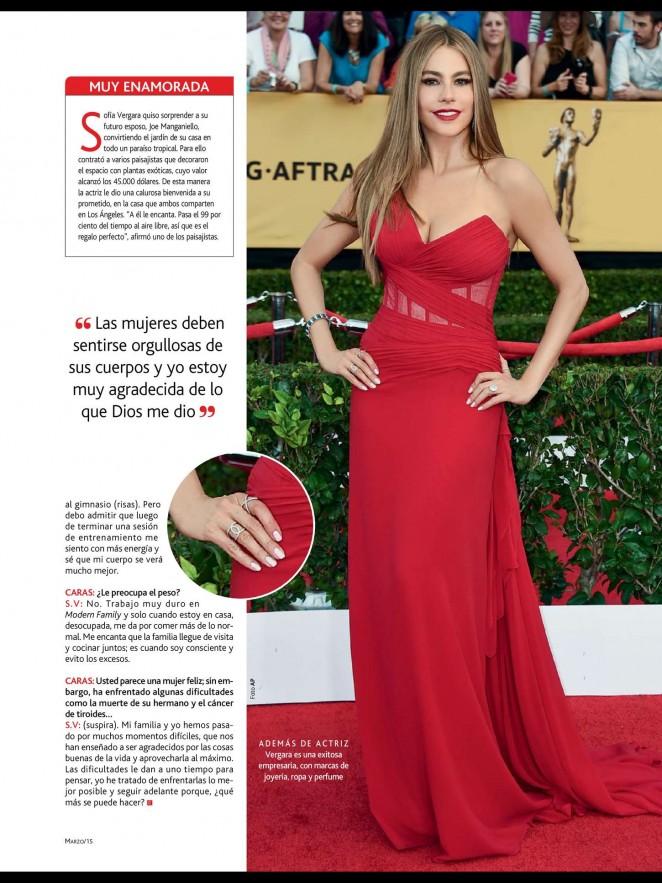 Sofía Vergara: Caras Magazine 2015 -02