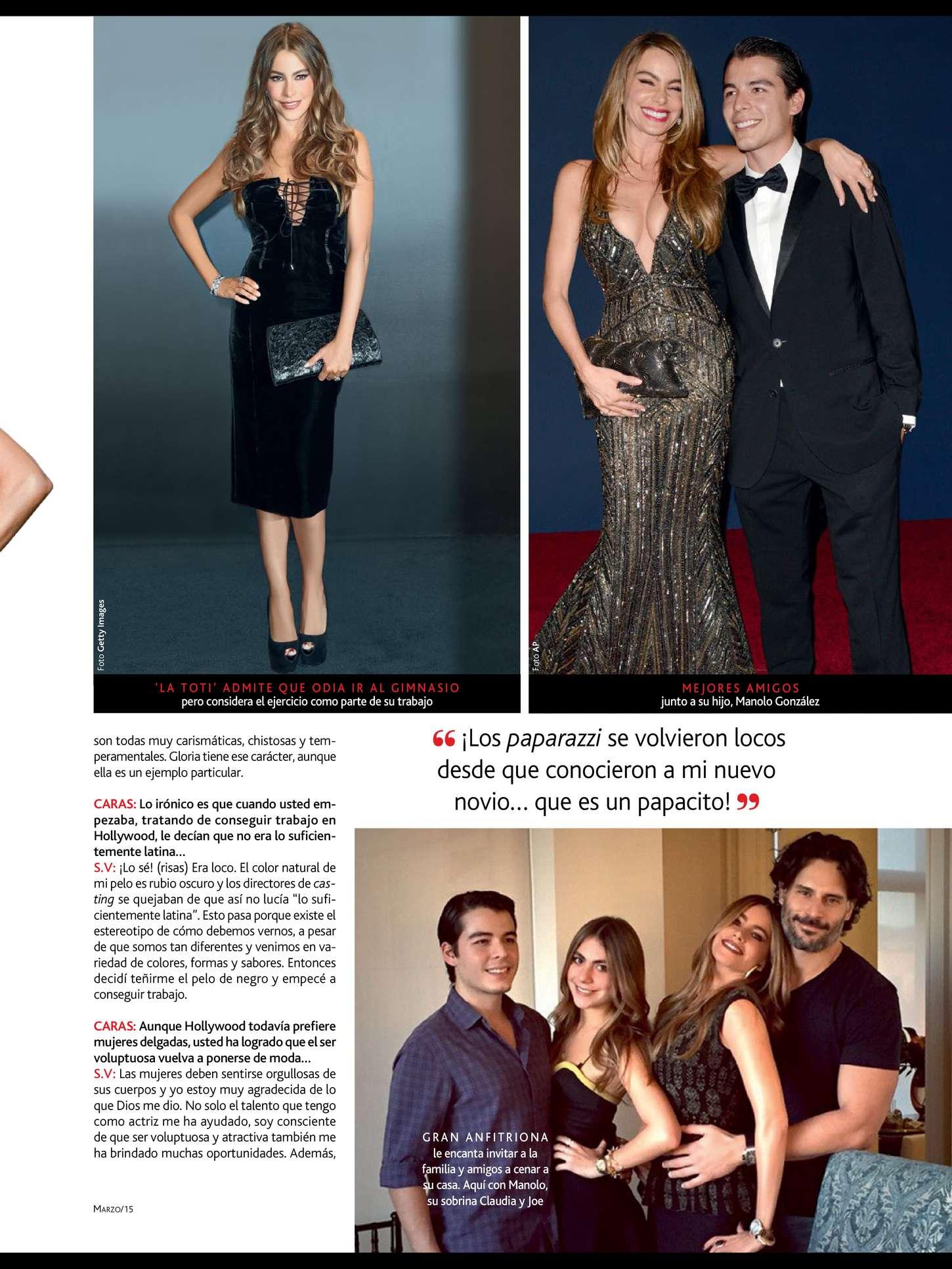 Uncategorized 2015 : Sofía Vergara: Caras Magazine 2015 -03