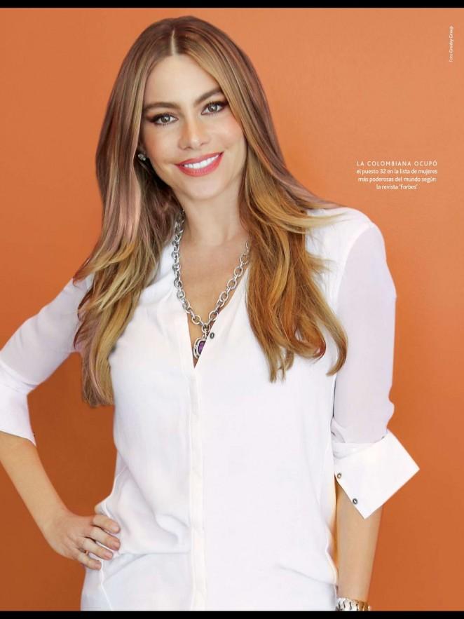 Sofía Vergara: Caras Magazine 2015 -05