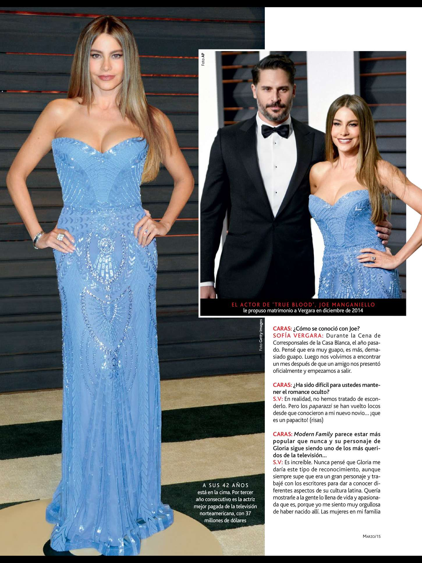 Uncategorized 2015 : Sofía Vergara: Caras Magazine 2015 -06