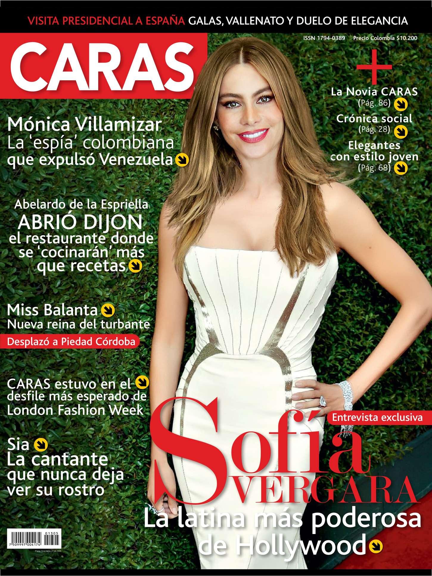 Sofía Vergara - Caras Magazine (March 2015)