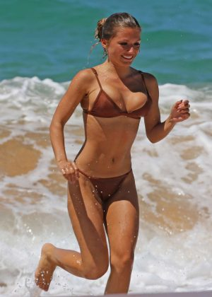 Sofia Beverly in Bikini in Hawaii