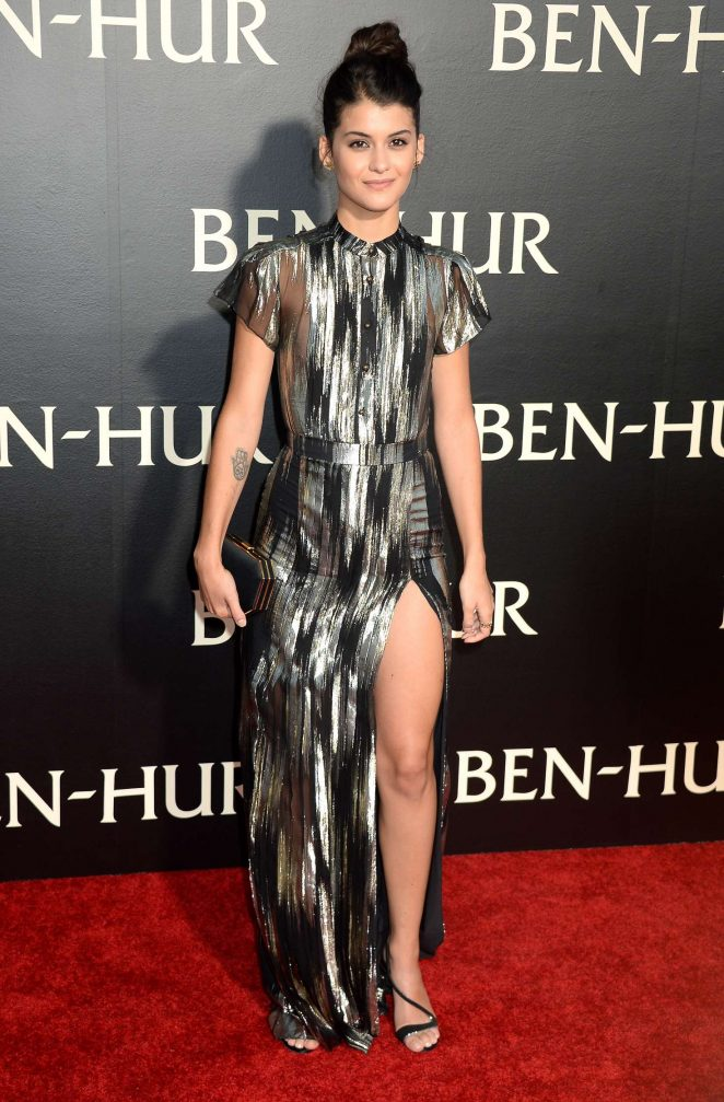 Sofia Black D'Elia - 'Ben-Hur' Premiere in Los Angeles