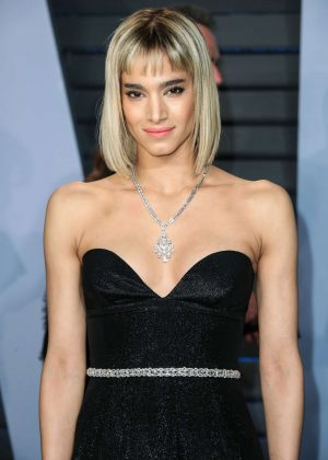 Sofia Boutella - 2018 Vanity Fair Oscar Party in Hollywood