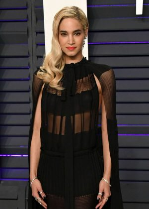 Sofia Boutella - 2019 Vanity Fair Oscar Party in Beverly Hills