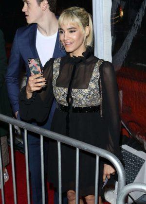 Sofia Boutella - Arrives at 'Alita: Battle Angel' Premiere in LA