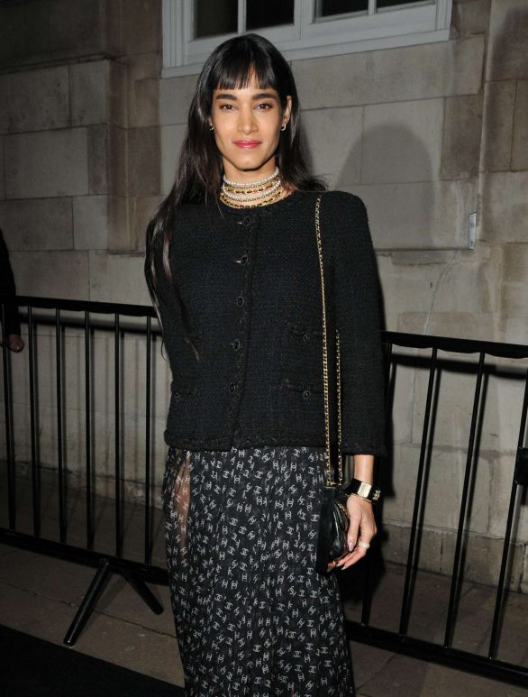 Sofia Boutella - Charles Finch and Chanel Pre-BAFTA Party in London