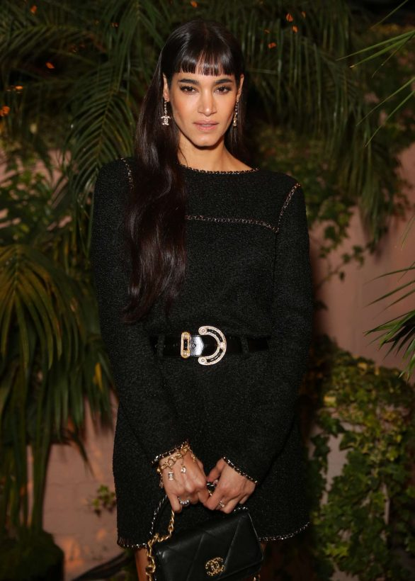 Sofia Boutella - Charles Finch and Chanel Pre-Oscars 2020 Dinner in Beverly Hills