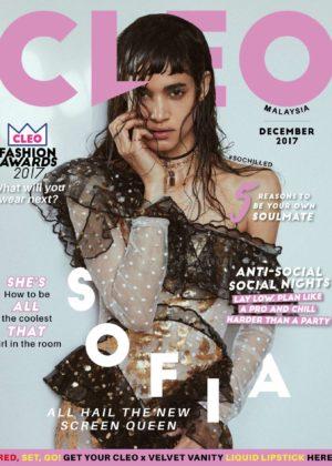 Sofia Boutella - Cleo Malaysia Magazine (December 2017)