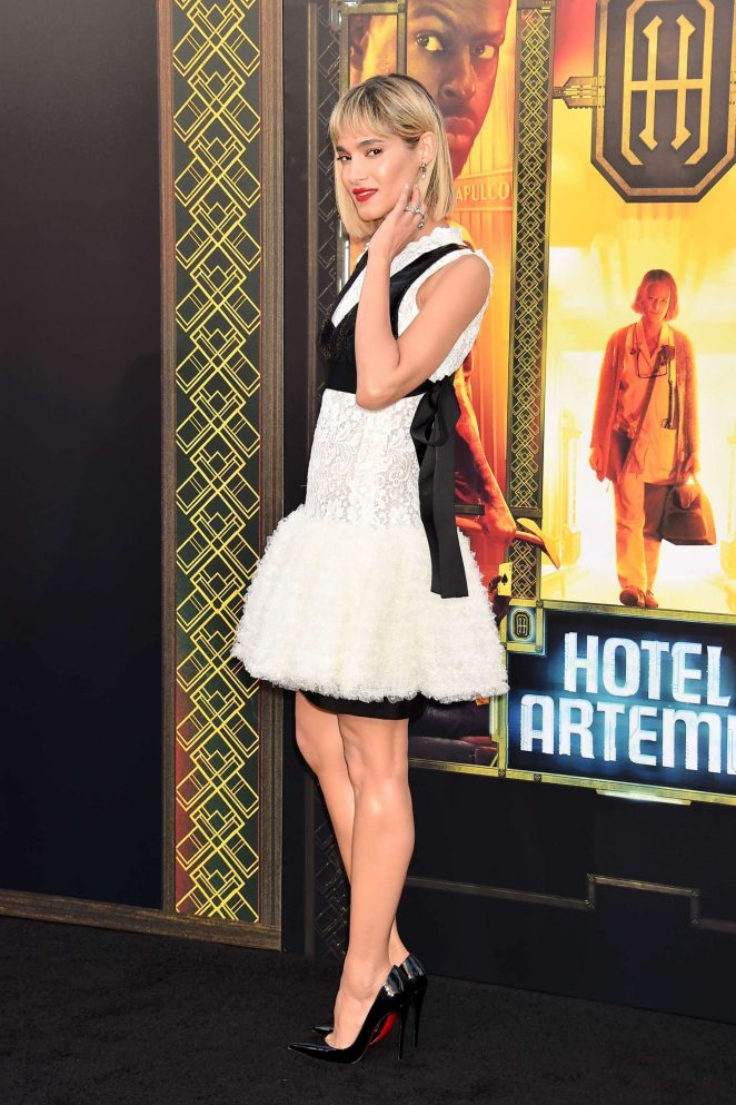 Sofia Boutella Hotel Artemis Premiere In Los Angeles 07