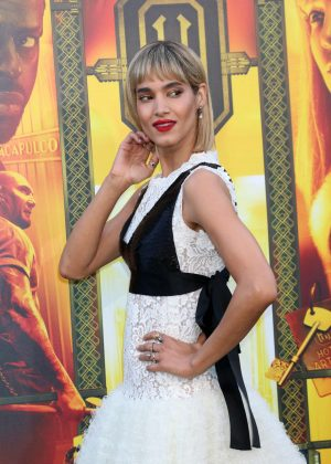 Sofia Boutella - 'Hotel Artemis' Premiere in Los Angeles
