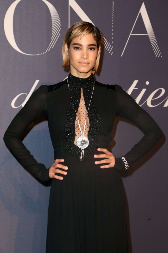 Sofia Boutella - Resonances De Cartier Jewelry Collection Launch in NY