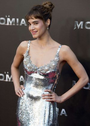 Sofia Boutella - 'The Mummy' Premiere in Madrid