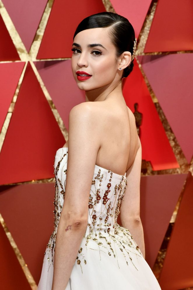 Sofia Carson- 2017 Academy Awards in Hollywood