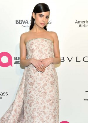 Sofia Carson - 2018 Elton John AIDS Foundation's Oscar Viewing Party in West Hollywood
