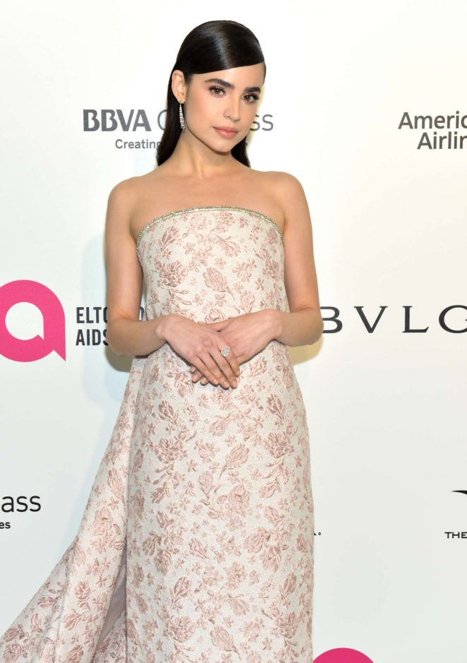 Sofia Carson – 2018 Elton John AIDS Foundation's Oscar Viewing Party in West Hollywood