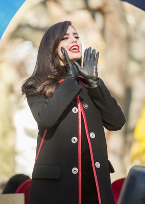 Sofia Carson - 89th Annual Macy's Thanksgiving Day Parade in NY