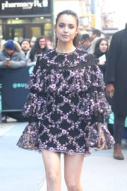Sofia Carson - Arrives at Build Series in New York