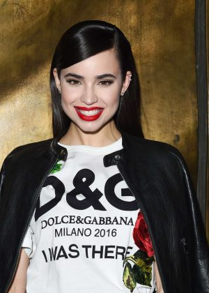 Sofia Carson at Dolce and Gabbana Store Party in Los Angeles