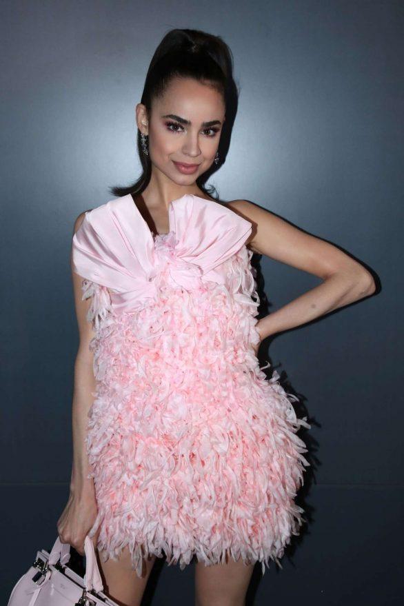 Sofia Carson - Giambattista Valli Womenswear SS 2020 Show at Paris Fashion Week