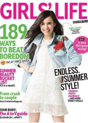 Sofia Carson - Girls' Life Magazine (June/July 2017)