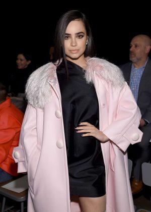 Sofia Carson - Marc Jacobs Fashion Show 2018 in New York