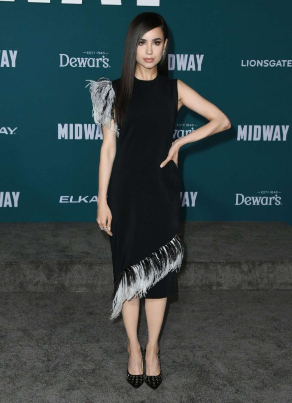Sofia Carson - 'Midway' Premiere in Westwood
