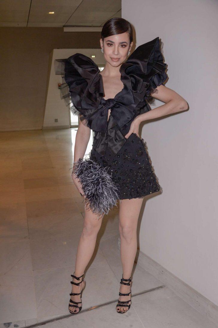 Sofia Carson - Outside Giambattista Valli Fashion Show in Paris
