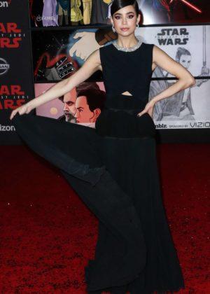 Sofia Carson - 'Star Wars: The Last Jedi' Premiere in Los Angeles