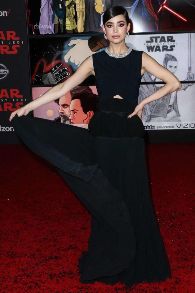 Sofia Carson – 'Star Wars: The Last Jedi' Premiere in Los Angeles