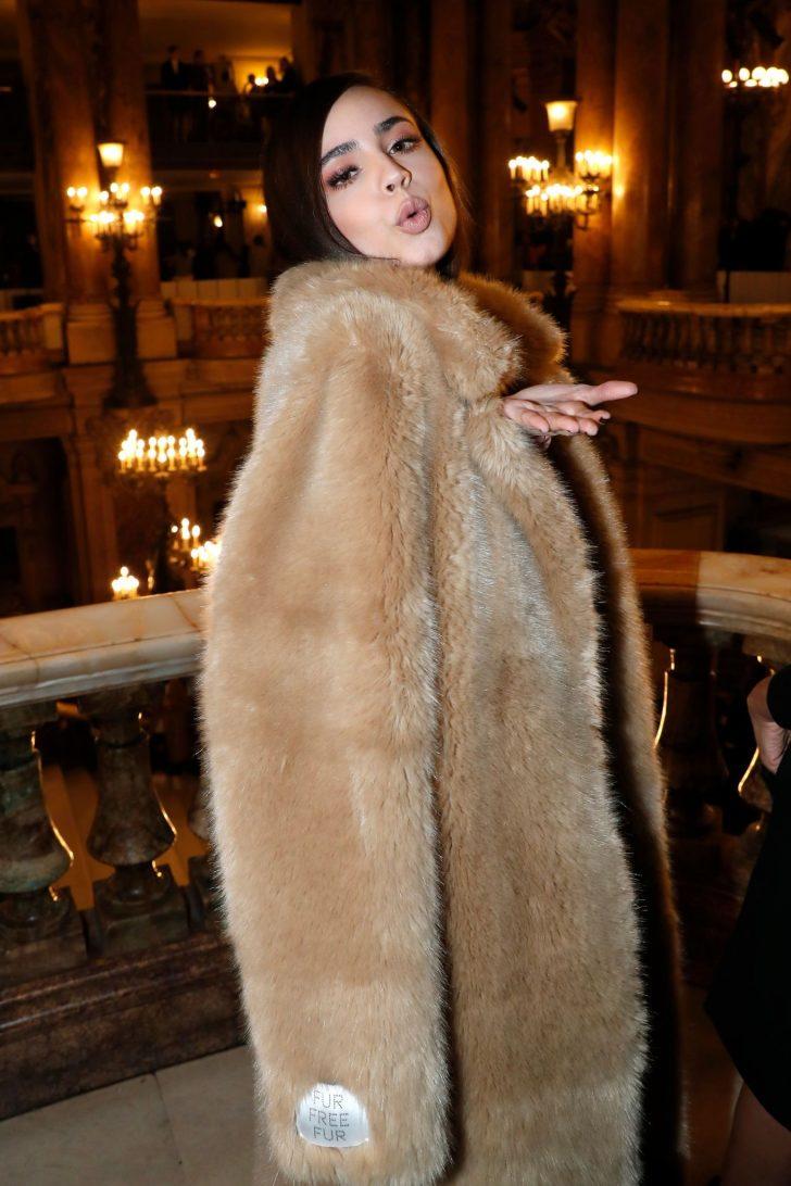 Sofia Carson - Stella McCartney Fashion Show in Paris