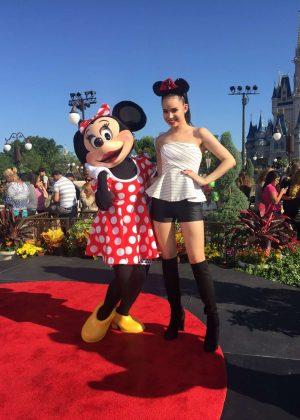 Sofia Carson - Visits 'Despierta America' set in Disney World