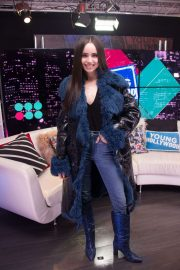 Sofia Carson - Visits the Young Hollywood Studio in LA
