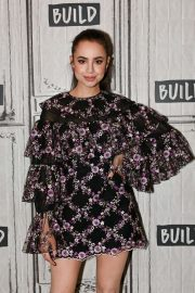 Sofia Carson - Vistis BUILD Studio in New York City