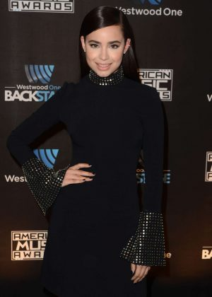 Sofia Carson - Westwood One Backstage at The American Music Awards Day 2 in LA