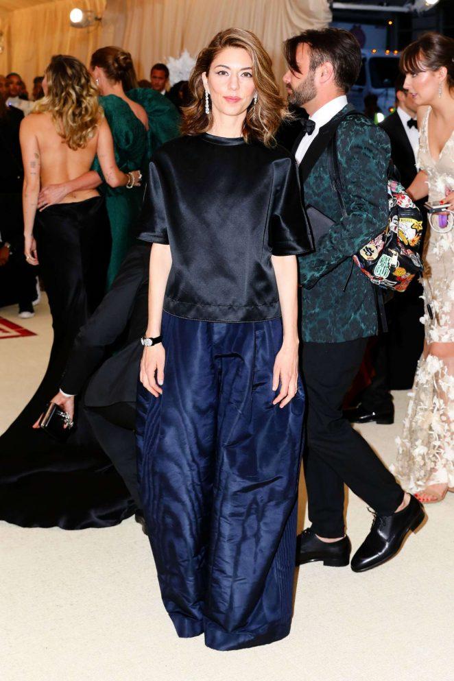 Sofia Coppola - 2018 MET Gala in NYC